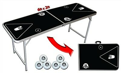 Buy table tennis outdoors brands - Compact Go Pong� Brand Beer Pong Table - 6ft
