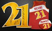 Dominique Wilkins Signed Jersey