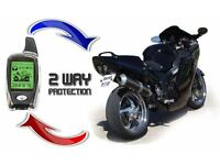Motorcycle Alarm and Tracker