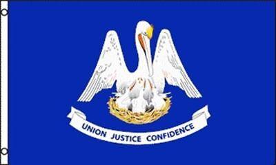 3x5 Louisiana State Flag State of Louisiana State Premium Banner FAST USA SHIP