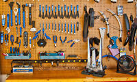 Oak Bay Bikes Service Department - Quality and Fast Repairs.....