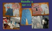 Boys Clothes Bundle 3-4