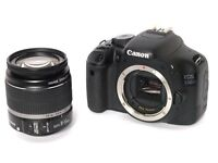 Canon EOS 550D 18.0MP DSLR Camera + Kit Bag, Stand And EFS 18-55mm Lens Boxed £350