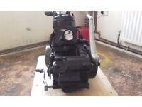 SUZUKI RM250 COMPLETE ENGINE, SPARE CYLINDER BARREL AND HEAD