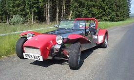 Robin Hood Kit Car 2.0 ltr Ford Pinto Engine, 5000 miles