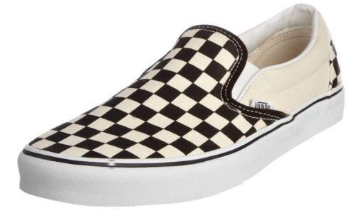 black and white checkered shoes ebay