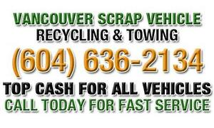 SELL MY CAR FOR CASH VANCOUVER (604) 636 2134 WE BUY USED CARS