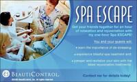 Mobile Spa Escape Parties by BeautiControl (Winnipeg and Area)