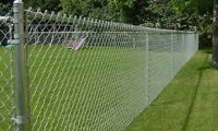 Chainlink fence.Supply/installation.