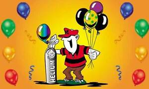 Helium tank rentals and balloons