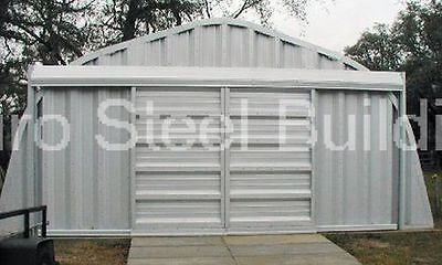 Durospan Steel A25x20x12 Metal Building Kit As Seen On Tv Factory Direct Save
