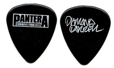 PANTERA Guitar Pick : 1990 Cowboys From Hell Tour - Diamond Dimebag Darrell