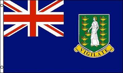 British Virgin Islands Flag 3x5 ft Banner BVI Caribbean Overseas Territories ()