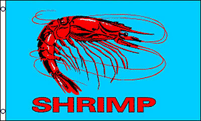 Shrimp Flag 3x5 Business Advertising Seafood Sign Banner 3x5 - Bf