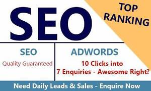 1st Page SEO   AdWords - Daily Leads and Sales Melbourne CBD Melbourne City Preview