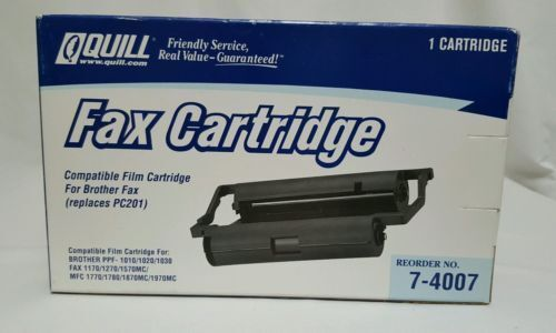 Brother Compatible PC-201 Fax Cartridge 1010/1020/1030 Quill Printing Ink Film