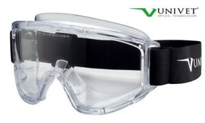 New Pair of Univet Safety Goggles + bonus items-Lot $5