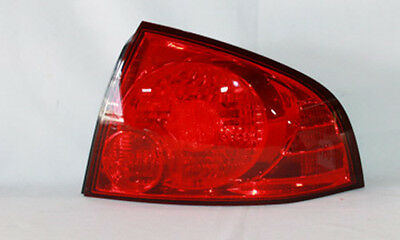 Tail Light Assembly Right Outer TYC 11-6001-00 fits 04-06 Nissan Sentra
