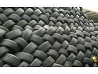 quality part worn tyre from germany