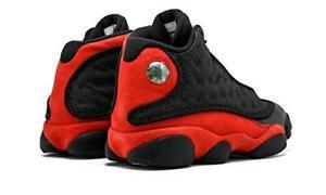 low priced 913f9 0dbcb Air Jordan 13 Retro Bred XIII Aj13 Men SNEAKERS Black Red White 414571-004  10