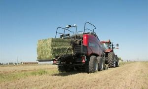 custom large square baling