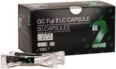 Dental Gc Fuji Ii Lc Rmgic Light Cure Polishable Restorative 50 Caps