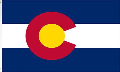 3x5 colorado state flag state of colorado