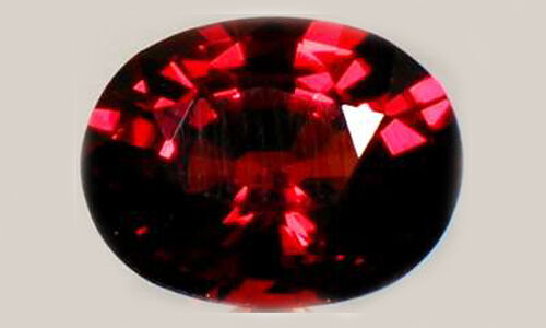 Red Spessart 2¼ct Antique 19thC Bavaria Ancient Rome Blood Talisman Warns Danger