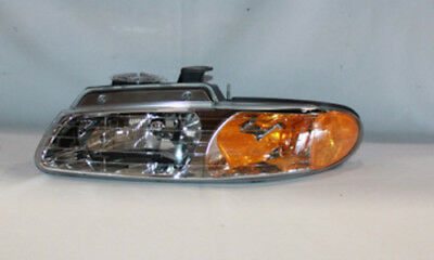 Headlight fits 1996-1999 Plymouth Voyager  TYC