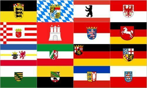 Germany 16 Federal States Flag 5