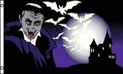3x5 Ft Halloween Vampire Halloween polyester Flag - VAMPIRE kf