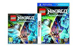 LEGO Ninjago Nindroids Games