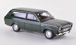 FORD ESCORT Mk1 ESTATE / TURNIER in Dark Green  1/43 scale model NEO
