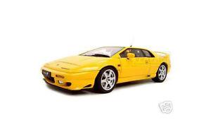 LOTUS ESPRIT V8 YELLOW 1:18  DIECAST CAR MODEL BY AUTOART 75313