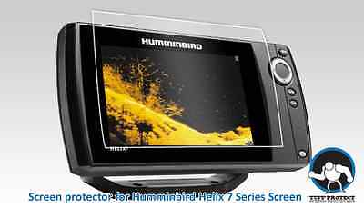 Tuff Protect Clear Screen Protectors for Humminbird Helix 7