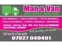 Man With A Van Nottingham