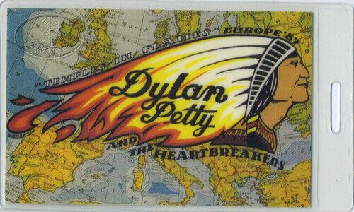 BOB DYLAN Tom Petty 1987 Laminated Backstage Pass