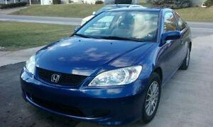 Honda Civic 2005 Blue