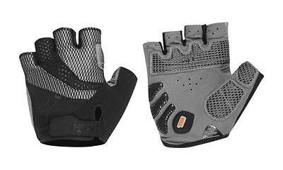 KTM Handschuhe kurz schwarz/grau Gr. S Fahrrad MTB Bike Race Trekking Tour...