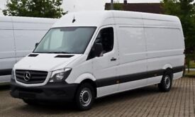 Man and van hire for house move removal service Manchester Short notice available