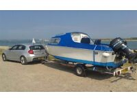 Boat by *MICROPLUS*(501)..17 ft Fishing Boat +* MERCURY 50 'HP* 4 cyl 2 stroke*+*New Trailer