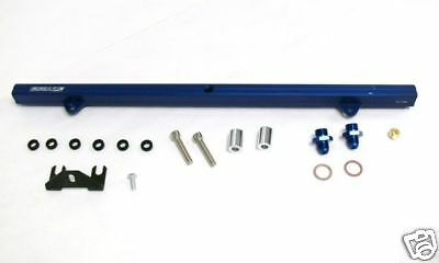 OBX Racing Sports Fuel Rail For 99-04 Beetle / Passat / Golf 02-04 A4 1.8T Blue Racing Fuel Rail