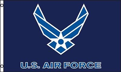 US Air Force Flag New Style Wings ...
