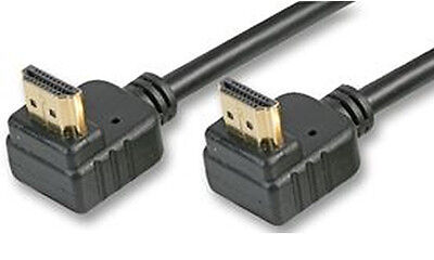 2m HDMI 1.4 High Speed 3D TV Right Angled 90 Degree Plug Cable [005798]