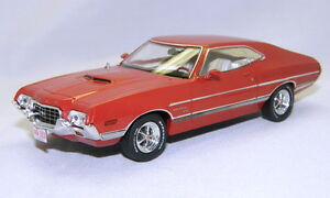 ford gran torino sport red 1972 premiumx 1 43 prd152 ebay. Black Bedroom Furniture Sets. Home Design Ideas