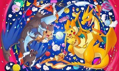 Pokemon Custom Playmat Mega Charizard XY Pikachu Pretend Costume family Play Mat - Pokemon Family Costumes