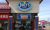 Leduc Restaurant For Sale - Joey's Only Seafood