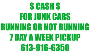 We Pay Cash for you Junk Vehicles Call Today get Fast $$$$$