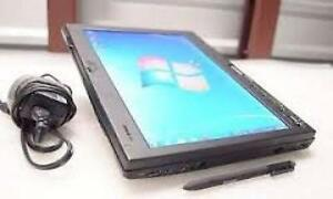 Lenovo Core 2 Dou Tablet Laptop Computer 320gb Hard 3gb Ram /Pen/Camera