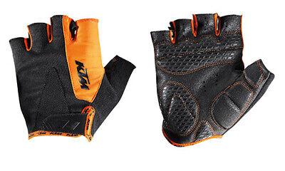 KTM Handschuhe Factory Line kurz schwarz/orange Gr.S Fahrrad MTB Bike NEU